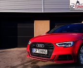 More power for the racy A3 by OBD-tuning.