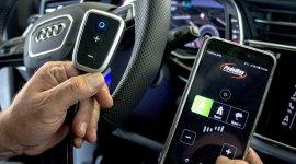 Pedalbox mit Handy App im Audi