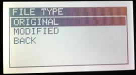 Einfaches umprogrammieren zwischen Original und Tuning Software